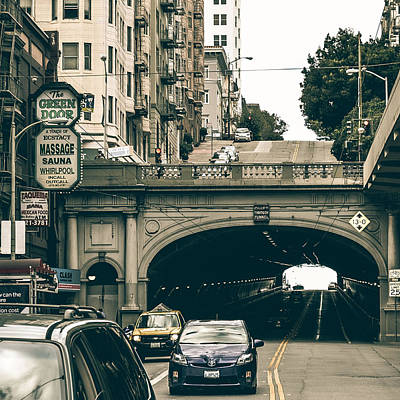 The Streets Of San Francisco Art Print