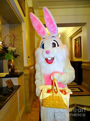Photograph - The St.regis Easter Bunny by Ed Weidman