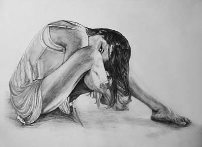 Drawing - The Stretch by Sheryl Gallant