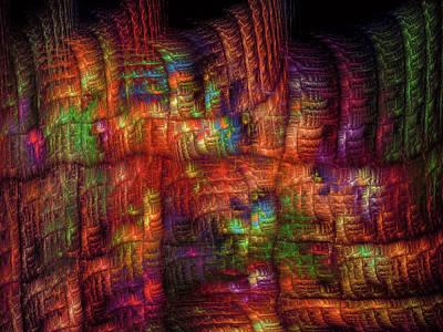 Digital Art - The Strong Fabric Of Dreams by Menega Sabidussi