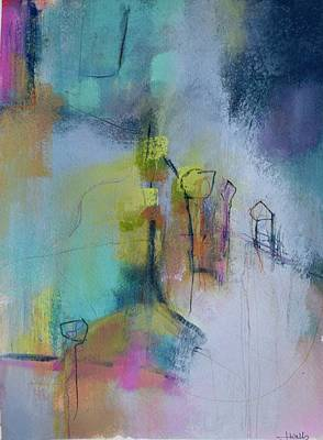 Wall Art - Mixed Media - The Struggle With Being Invisible by Jen Walls