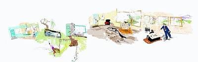 Digital Art - The Sttudio by Debbi Saccomanno Chan