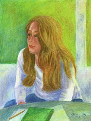 Painting - The Student by Jeanne Kay Juhos