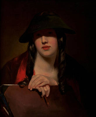 The Student Art Print by Thomas Sully