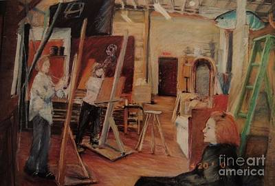 Pastel - The Studio by Nancy Kane Chapman