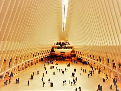 Photograph - The Stunning Oculus In New York  by Funkpix Photo Hunter