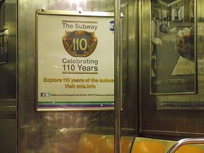 Farm Life Paintings Rob Moline - The Subway 110 Years 1 by Nina Kindred