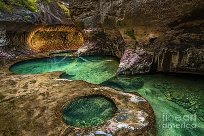 State Love Nancy Ingersoll - The Subway Emerald Pools by Jamie Pham