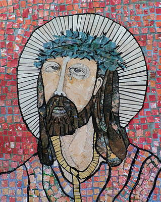 Carol Cole Painting - The Suffering Jesus  by Carol Cole