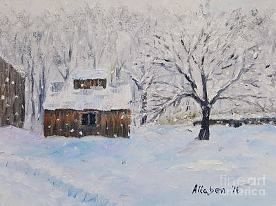 Painting - The Sugar House by Stanton Allaben