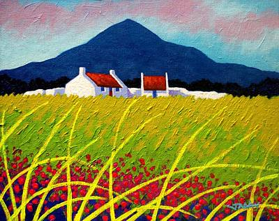 Irish Painting - The Sugar Loaf County Wicklow by John  Nolan