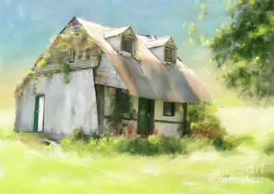 Photograph - The Summer Cottage by Lois Bryan