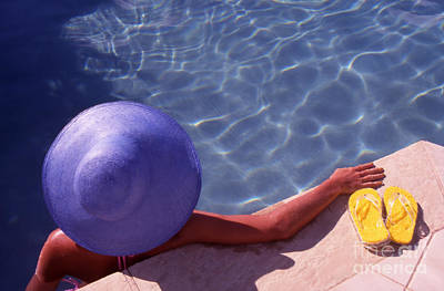 The Summer Hat Art Print by Steve Outram