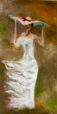 Windblown Painting - The Summer Wind by Stephen King