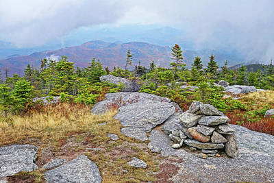 Photograph - The Summit Of Rocky Peak Ridge Adirondacks by Toby McGuire