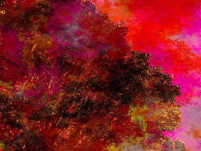 Conceptual Digital Art - The Sun Also Rises When Dreaming by Abstract Angel Artist Stephen K
