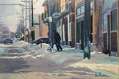 Painting - The Sun And The Snow by David Buttram