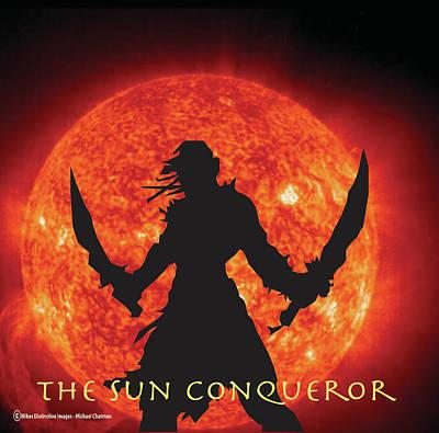 Digital Art - The Sun Conqueror by Michael Chatman