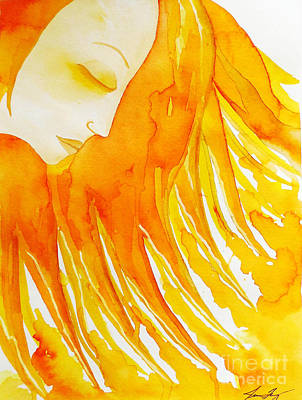 The Sun Goddess Art Print by Jean Fry
