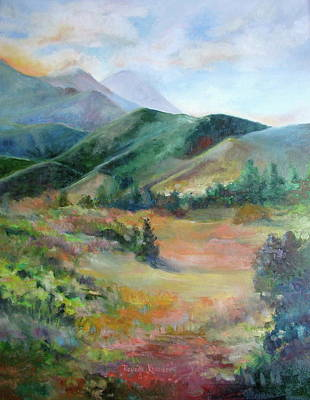 The Sun Goes Down Over Rampart Range Original by Reveille Kennedy