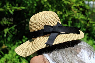 Photograph - The Sun Hat by K L Kingston
