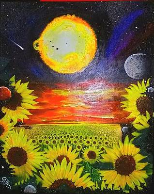 Painting - The Sun  SOLD by John Palliser