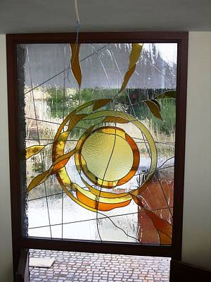 Glass Art - The Sun by Justyna Pastuszka