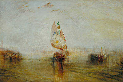 Painting - The Sun Of Venice Going To Sea by Joseph Mallord William Turner