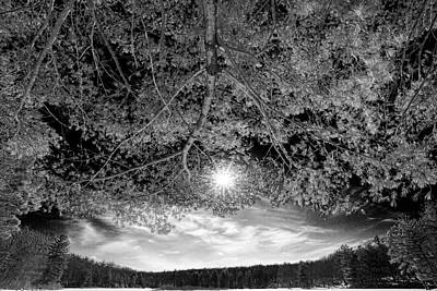 Photograph - The Sun Over Stony Lake by Dawn J Benko