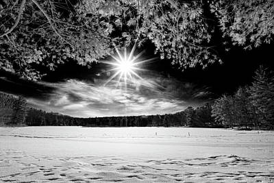 Photograph - The Sun Over Stony Lake II by Dawn J Benko