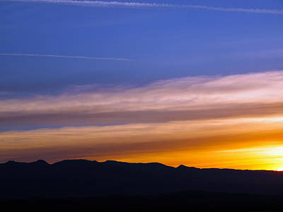 Photograph - The Sun Rises Over Amargosa Range by Joe Schofield