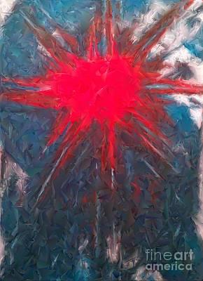 The Sun Shines Through Art Print by Jacqueline McReynolds