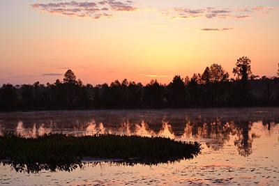 Photograph - The Sun, The Sunrise by rd Erickson