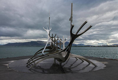 The Sun Voyager, Reykjavik, Iceland Art Print
