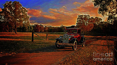 Photograph - The Sunday Drive 15218 by Ray Shrewsberry