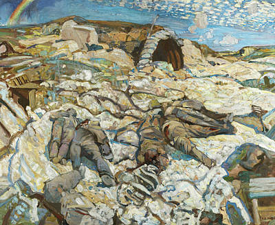 Painting - The Sunken Road by Frederick Varley