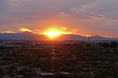 Photograph - The Sunset From Papago Park Phoenix Arizona Az 2 by Toby McGuire