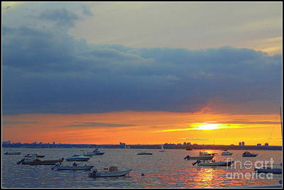 Photograph - The Sunset Of Late July by Dora Sofia Caputo Photographic Design and Fine Art