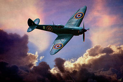 The Supermarine Spitfire Art Print