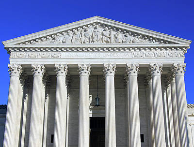 Photograph - The Supreme Court -- Equal Justice Under Law by Cora Wandel