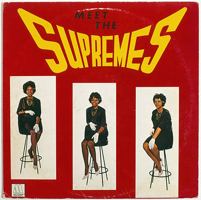 The Supremes Album, 1964 Art Print