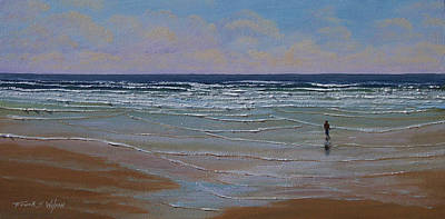 Painting - The Surf Walker by Frank Wilson