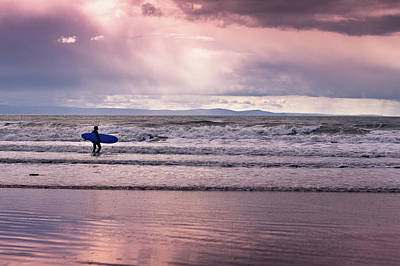 Photograph - The Surfer by Justin Albrecht