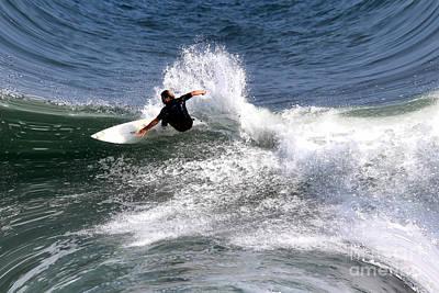 The Surfer Art Print by Tom Prendergast