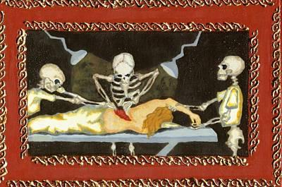 The Surgeon's Rape Art Print by Cathy Germay