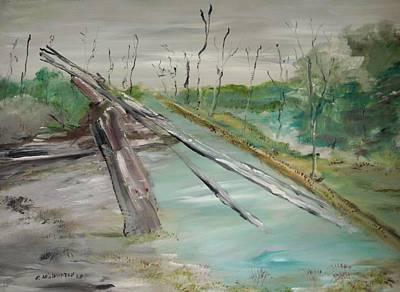 The Swamp Art Print by Edward Wolverton