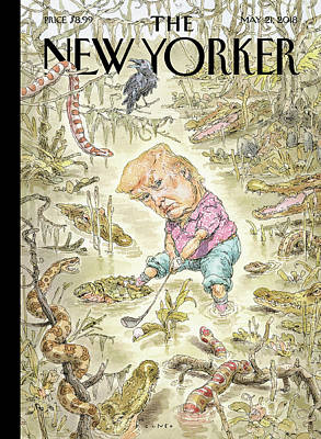 President Drawing - The Swamp by John Cuneo