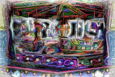 The Swan Carousel Original