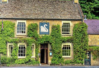 Photograph - The Swan Hotel Bibury by Wallaroo Images