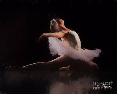 Painting - The Swan  by Rosario Piazza